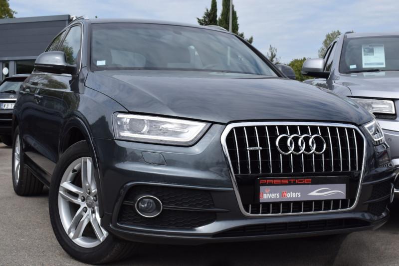 Audi Q3 2.0 TDI 150CH S LINE QUATTRO S TRONIC 7 Diesel GRIS DAYTONA Occasion à vendre