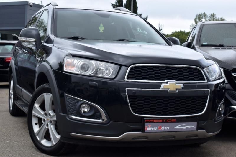 Chevrolet CAPTIVA 2.2 VCDI 184CH S&S LTZ 4X4 7places Diesel NOIR Occasion à vendre