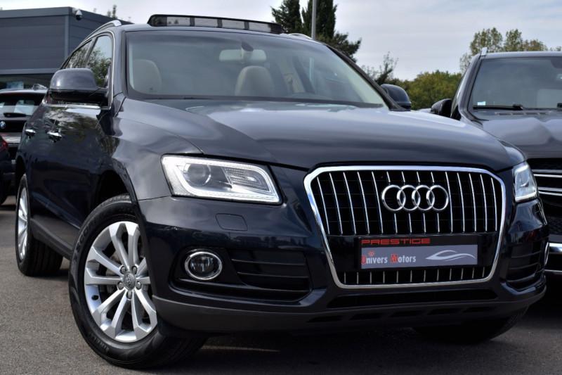 Audi Q5 2.0 TDI 190CH CLEAN DIESEL BUSINESS LINE QUATTRO Diesel BLEU FONCE Occasion à vendre
