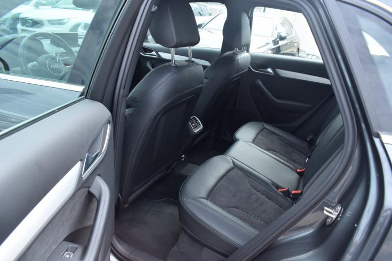 Photo 6 de l'offre de AUDI Q3 2.0 TDI 150CH S LINE QUATTRO S TRONIC 7 à 22400€ chez Univers Motors