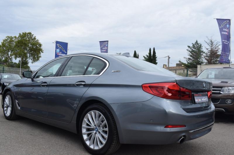 Photo 3 de l'offre de BMW SERIE 5 (G30) 530EA IPERFORMANCE 252CH LUXURY à 37900€ chez Univers Motors