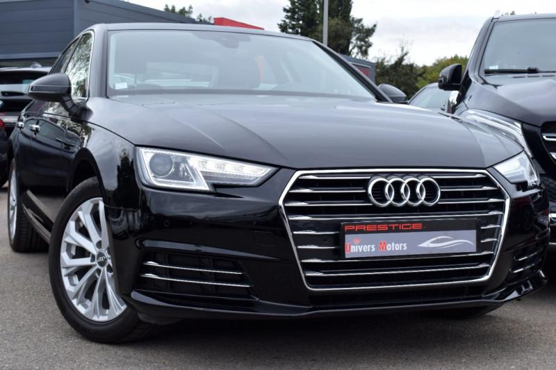 Audi A4 1.4 TFSI 150CH DESIGN 29983km garanti Essence NOIR Occasion à vendre