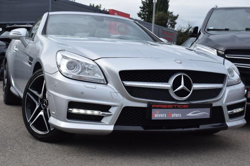 Mercedes-Benz CLASSE SLK (R172) 200 7GTRO+ Essence GRIS Occasion à vendre