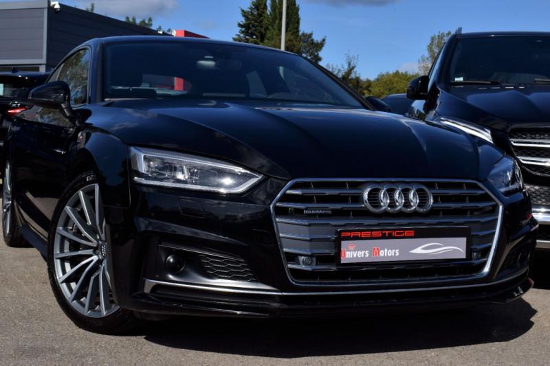 Audi A5 SPORTBACK 2.0 TDI 190CH S LINE QUATTRO S TRONIC 7 10CV Diesel NOIR Occasion à vendre