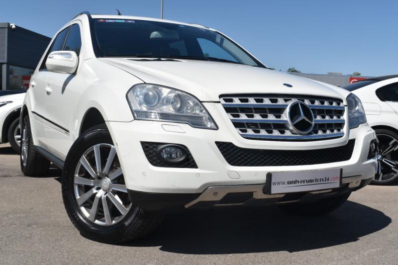 Mercedes-Benz CLASSE ML (W164) 320 CDI PACK SPORT Diesel BLANC Occasion à vendre