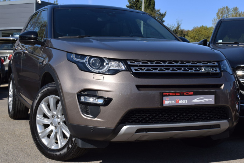 Land-Rover DISCOVERY SPORT 2.0 TD4 180CH AWD HSE BVA 7places Diesel BRONZE Occasion à vendre