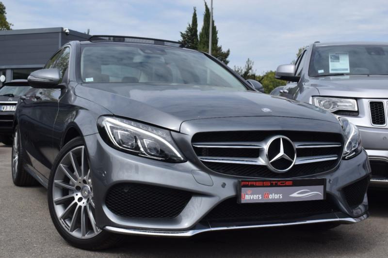 Mercedes-Benz CLASSE C (W205) 220 D FASCINATION 4MATIC 9G-TRONIC Diesel GRIS SÉLÉNITE Occasion à vendre