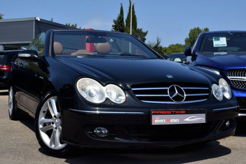 Mercedes-Benz CLASSE CLK CABRIOLET 200K AVANTGARDE BA Essence NOIR Occasion à vendre