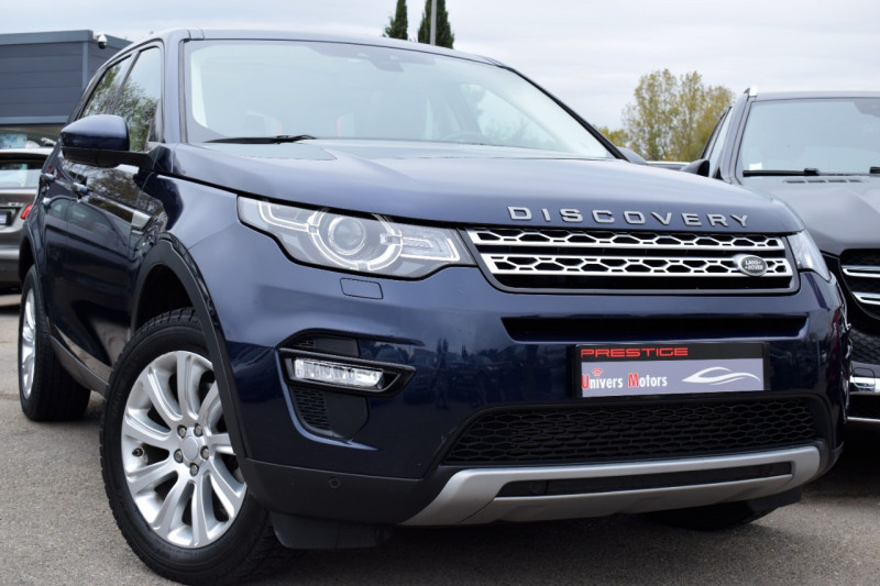 Land-Rover DISCOVERY SPORT 2.2 SD4 190CH AWD HSE BVA 7places Diesel BLEU FONCE Occasion à vendre