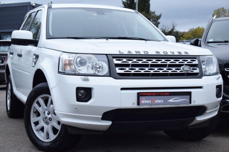 Land-Rover FREELANDER SD4 SE BVA  4X4 Diesel BLANC Occasion à vendre