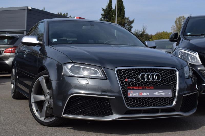 Audi RS3 SPORTBACK 2.5 TFSI 340CH QUATTRO S TRONIC 7 Essence GRIS DAYTONA Occasion à vendre