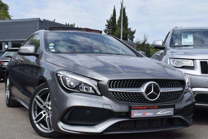 Mercedes-Benz CLA (C117) 220 D FASCINATION 4MATIC 7G-DCT Diesel GRIS SÉLÉNITE Occasion à vendre