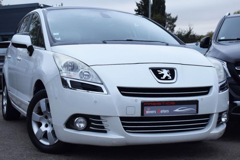 Peugeot 5008 1.6 E-HDI115 FAP ALLURE BM6 7PL Diesel BLANC NACRE Occasion à vendre