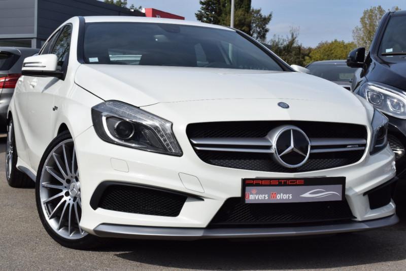 Mercedes-Benz CLASSE A (W176) 45 AMG 4MATIC EDITION 1 SPEEDSHIFT-DCT Essence BLANC Occasion à vendre