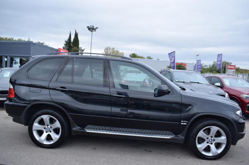 Bmw X5 (E53) 3.0DA 218CH PACK SPORT Diesel NOIR Occasion à vendre