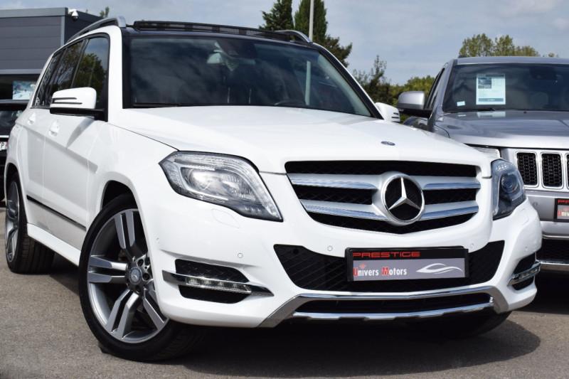 Mercedes-Benz CLASSE GLK (X204) 220 BLUETEC SPORT 4MATIC 7GTRONIC + Diesel BLANC Occasion à vendre