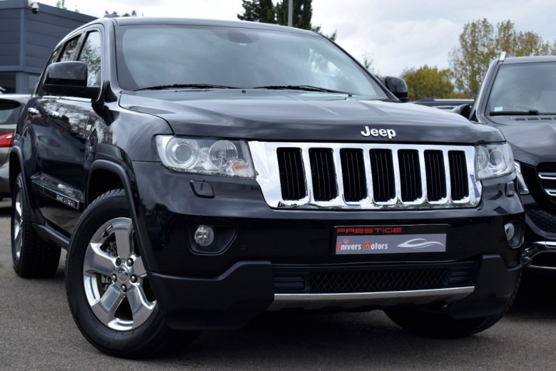 Jeep GRAND CHEROKEE 3.0 CRD241 V6  LIMITED Diesel NOIR Occasion à vendre