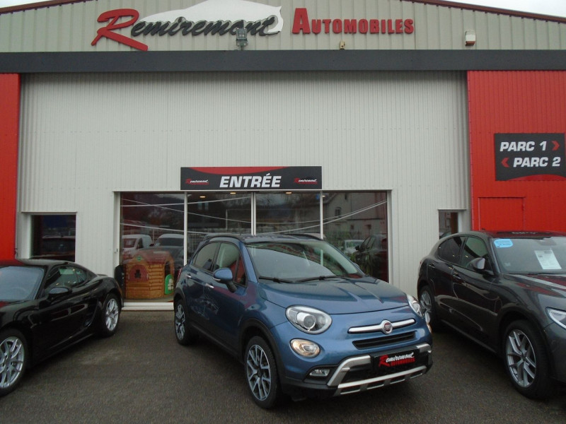 Fiat 500X 1.4 MULTIAIR 16V 140CH CROSS+ DCT Essence BLEU  Occasion à vendre
