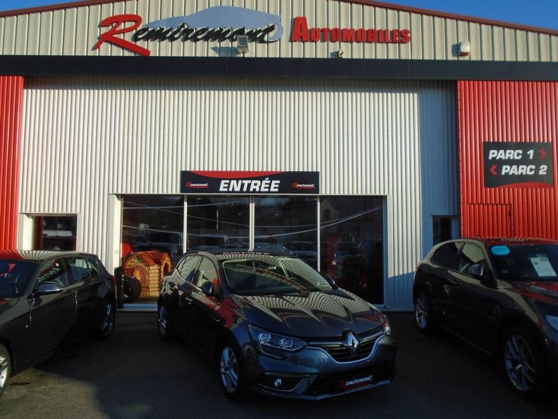 Renault MEGANE IV 1.5 DCI 110CH ENERGY BUSINESS ECO² Diesel GRIS  Occasion à vendre