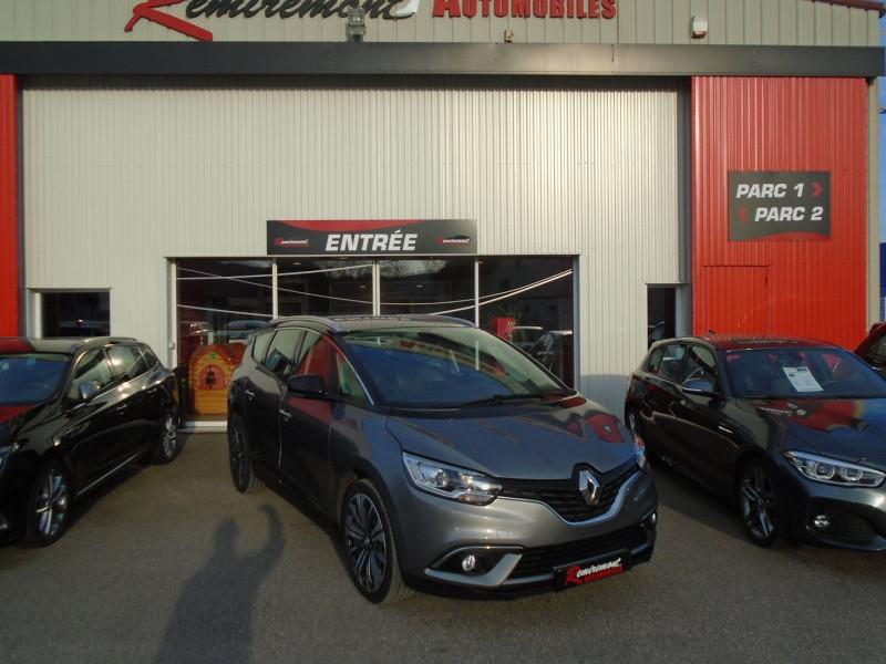 Renault GRAND SCENIC IV 1.5 DCI 110CH ENERGY BUSINESS 7 PLACES Diesel GRIS  Occasion à vendre