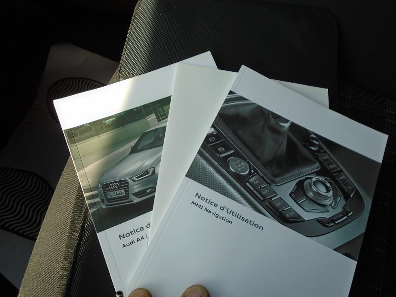 Photo 12 de l'offre de AUDI A4 2.0 TDI 136CH ULTRA CLEAN DIESEL DPF BUSINESS LINE EURO6 à 15995€ chez Remiremont automobiles