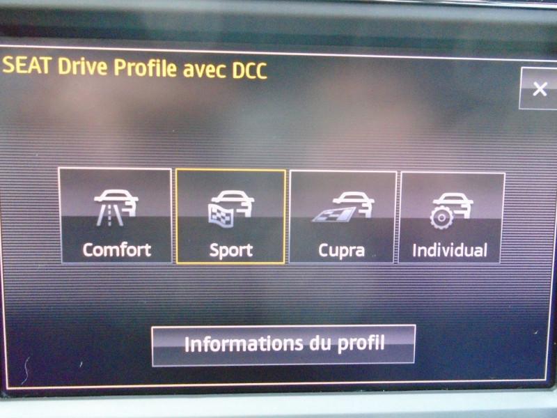 Photo 10 de l'offre de SEAT LEON ST 2.0 TSI 290CH CUPRA 290 START&STOP à 24995€ chez Remiremont automobiles