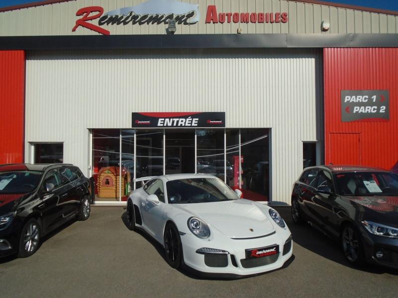Photo 1 de l'offre de PORSCHE 911 COUPE (991) GT3 à 129995€ chez Remiremont automobiles