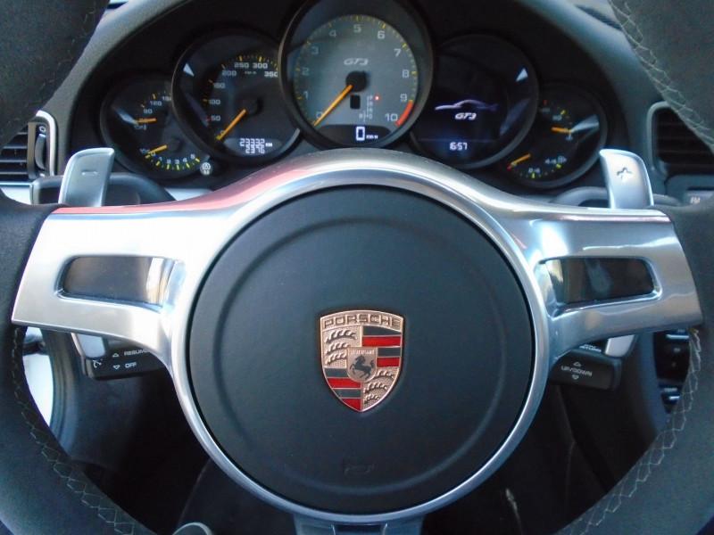 Photo 7 de l'offre de PORSCHE 911 COUPE (991) GT3 à 129995€ chez Remiremont automobiles