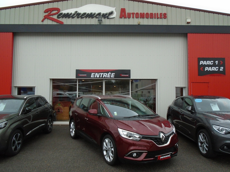 Renault GRAND SCENIC IV 1.5 DCI 110CH ENERGY BUSINESS 7 PLACES Diesel ROUGE Occasion à vendre