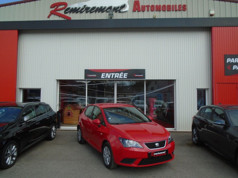 Seat IBIZA 1.6 TDI 90CH REFERENCE BUSINESS 5P Diesel ROUGE Occasion à vendre