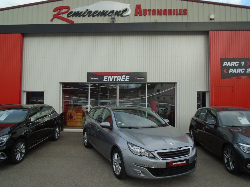 Peugeot 308 SW 1.6 BLUEHDI 120CH ACTIVE BUSINESS S&S EAT6 Diesel GRIS  Occasion à vendre