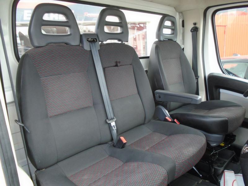 Photo 5 de l'offre de PEUGEOT BOXER BENNE 335 L2 2.0 BLUEHDI 130 S&S PRO SR à 23995€ chez Remiremont automobiles