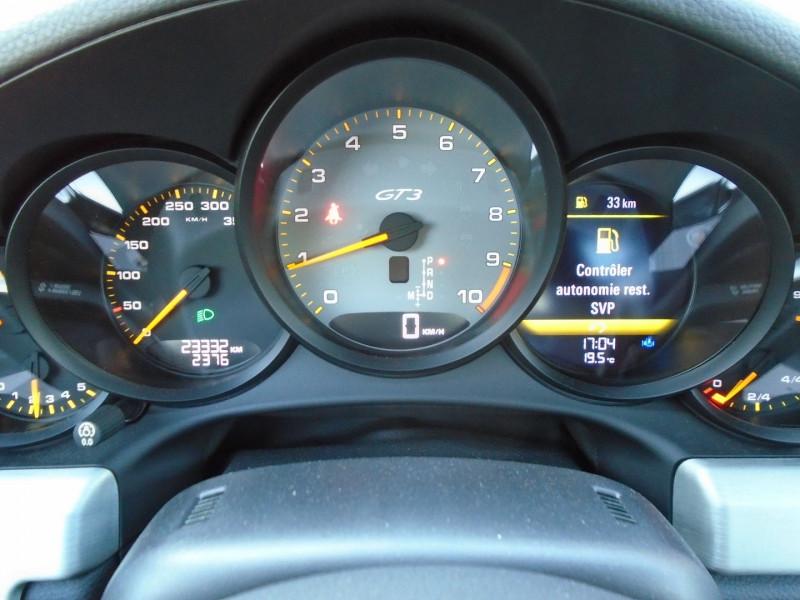 Photo 11 de l'offre de PORSCHE 911 COUPE (991) GT3 à 129995€ chez Remiremont automobiles