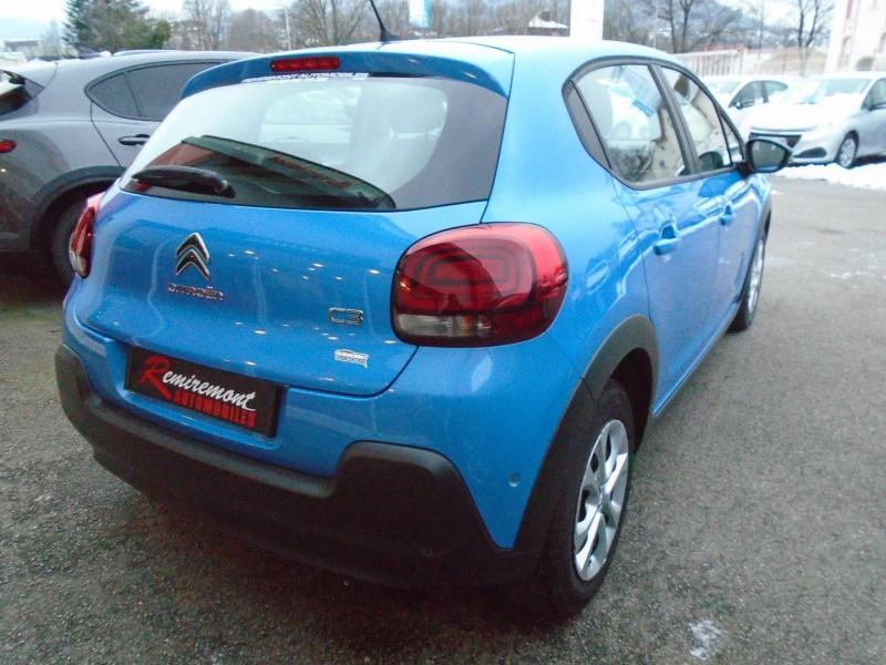 Photo 15 de l'offre de CITROEN C3 BLUEHDI 100CH FEEL BUSINESS S&S à 10995€ chez Remiremont automobiles