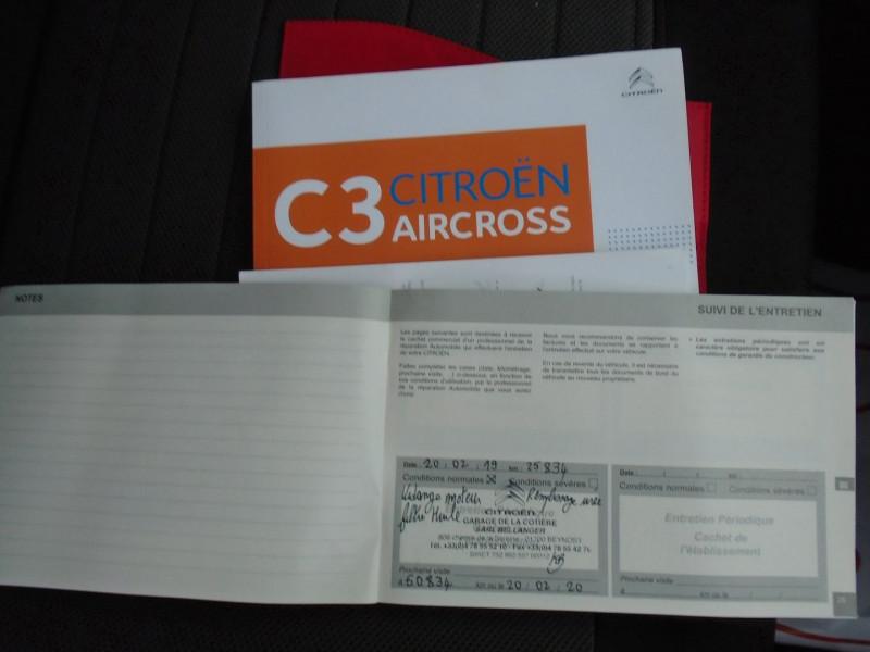 Photo 8 de l'offre de CITROEN C3 AIRCROSS BLUEHDI 100CH S&S FEEL BUSINESS 96G à 14495€ chez Remiremont automobiles