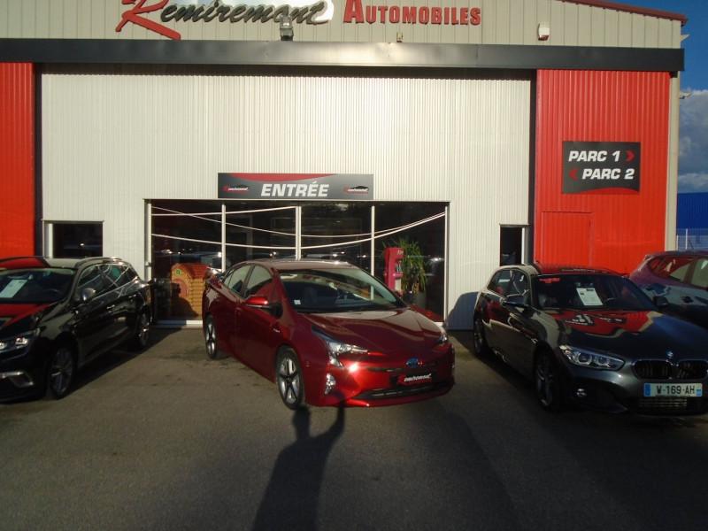 Toyota PRIUS 122H DYNAMIC PACK PREMIUM RC18 Hybride ROUGE Occasion à vendre