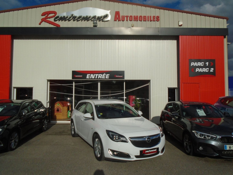 Opel INSIGNIA SP TOURER 2.0 CDTI ECOFLEX 120CH BUSINESS CONNECT START&STOP Diesel BLANC Occasion à vendre