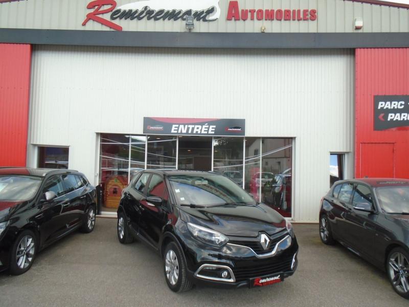 Renault CAPTUR 1.5 DCI 110CH STOP&START ENERGY BUSINESS ECO² Diesel NOIR Occasion à vendre