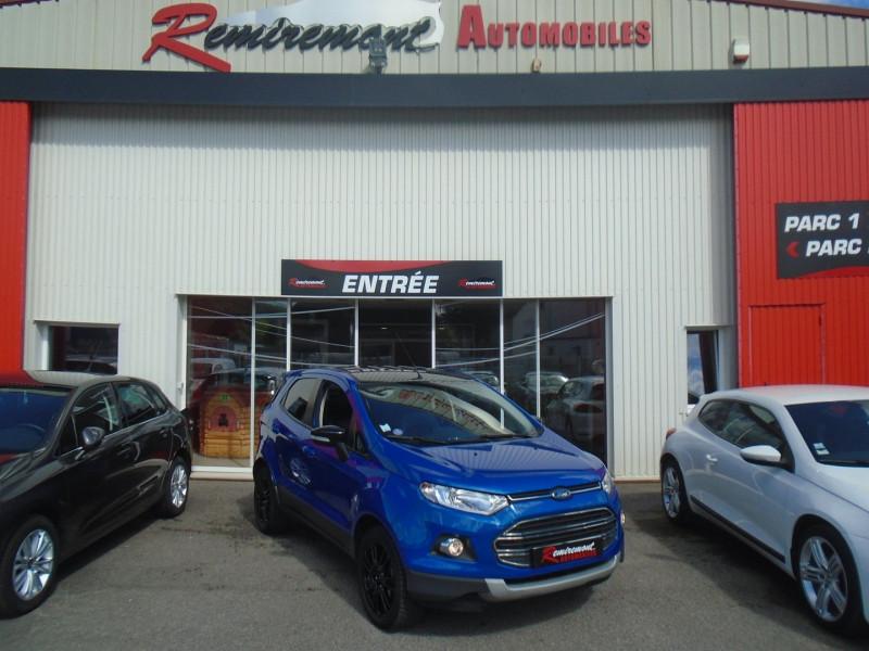 Ford ECOSPORT 1.0 ECOBOOST 125CH TITANIUM EURO6.2 Essence BLEU  Occasion à vendre