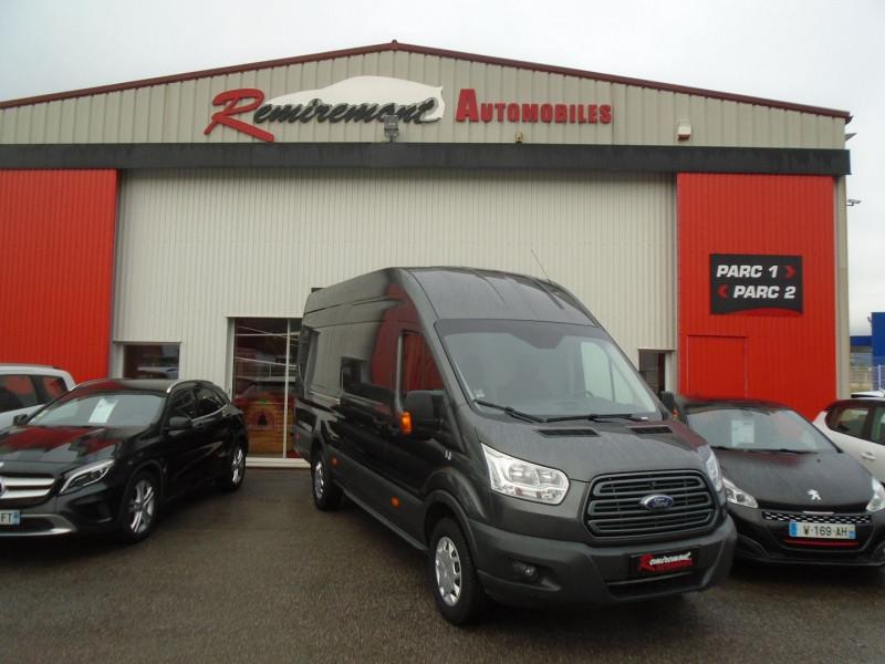 Ford TRANSIT 2T FG P350 L4H3 2.0 ECOBLUE 130CH TREND BUSINESS Diesel GRIS Occasion à vendre