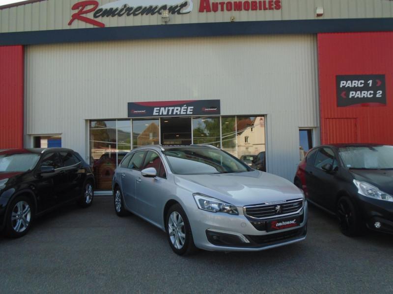 Photo 1 de l'offre de PEUGEOT 508 SW 2.0 BLUEHDI 150CH FAP ACTIVE BUSINESS à 13995€ chez Remiremont automobiles