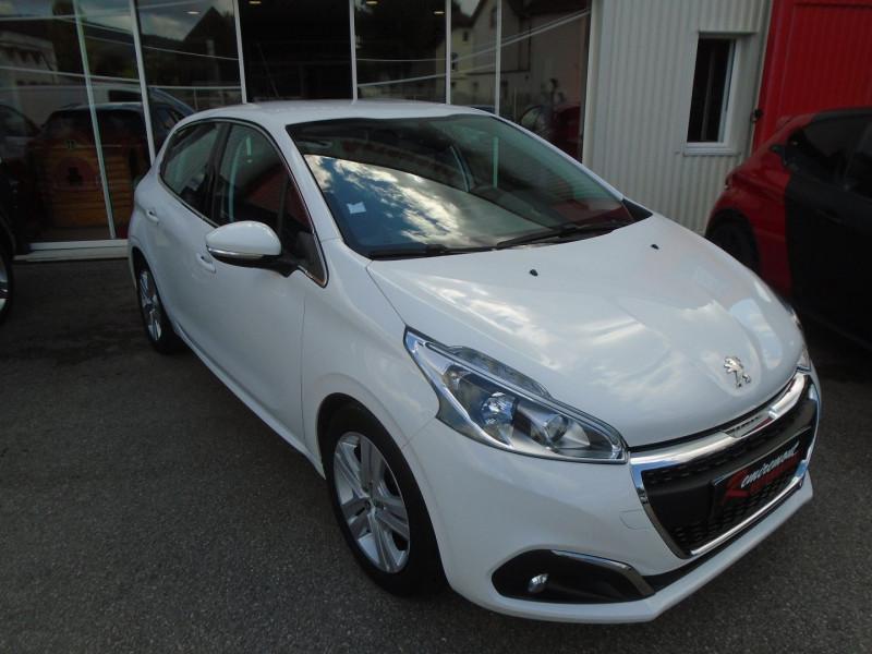 Peugeot 208 1.6 BLUEHDI 100CH ALLURE BUSINESS S&S 5P Diesel BLANC Occasion à vendre