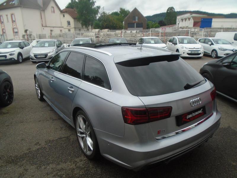 Photo 2 de l'offre de AUDI S6 AVANT 4.0 V8 TFSI 450CH QUATTRO S TRONIC 7 à 46995€ chez Remiremont automobiles
