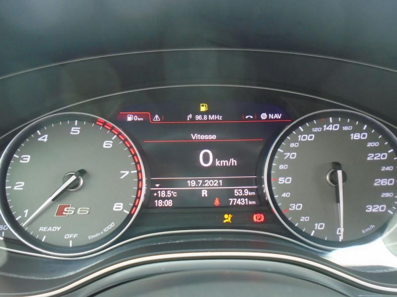Photo 10 de l'offre de AUDI S6 AVANT 4.0 V8 TFSI 450CH QUATTRO S TRONIC 7 à 46995€ chez Remiremont automobiles