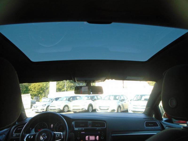 Photo 5 de l'offre de VOLKSWAGEN GOLF VII 2.0 TDI 184CH BLUEMOTION TECHNOLOGY FAP GTD 5P à 24995€ chez Remiremont automobiles
