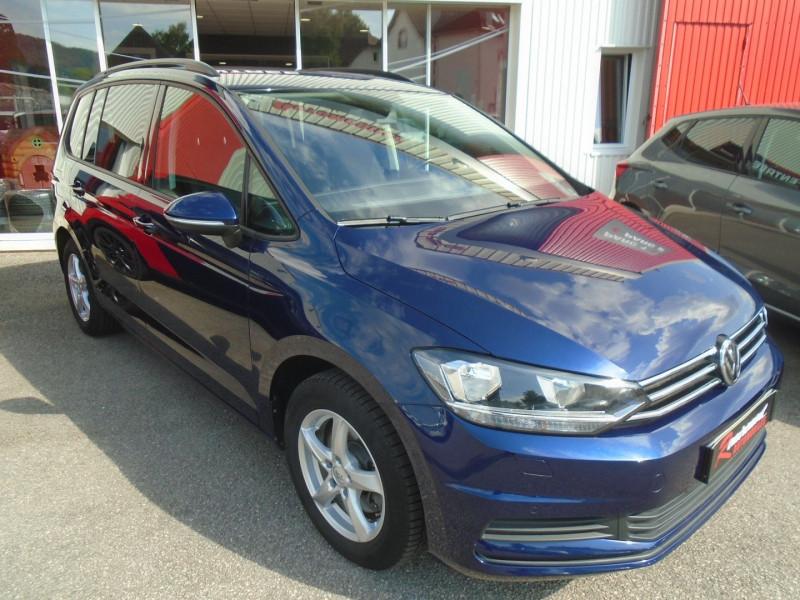 Volkswagen TOURAN 2.0 TDI 150CH BLUEMOTION TECHNOLOGY FAP CONFORTLINE 7 PLACES Diesel BLEU Occasion à vendre
