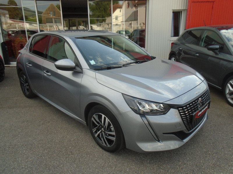 Peugeot 208 1.2 PURETECH 100CH S&S ALLURE 118G Essence GRIS Occasion à vendre