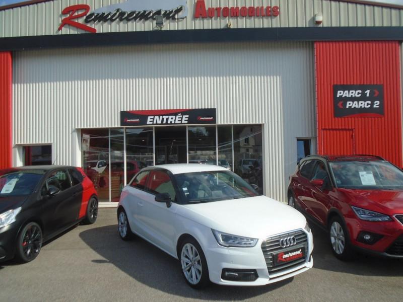 Audi A1 1.6 TDI 116CH AMBITION LUXE 6CV Diesel BLANC Occasion à vendre
