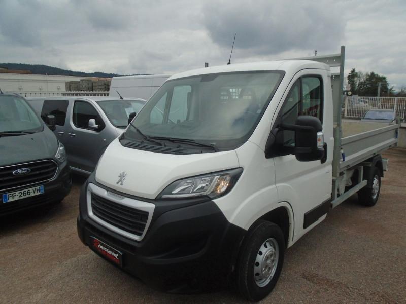 Peugeot BOXER BENNE 335 L2 2.0 BLUEHDI 130 S&S PRO SR Diesel BLANC Occasion à vendre