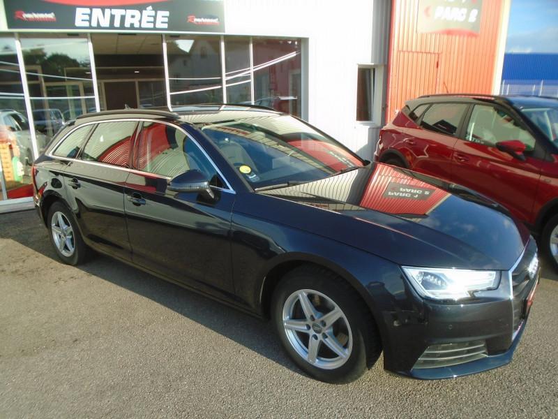 Audi A4 AVANT 2.0 TDI 122CH BUSINESS LINE Diesel BLEU  Occasion à vendre